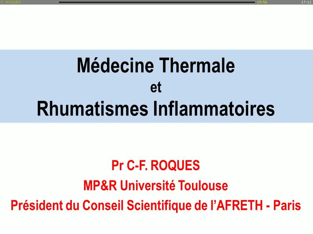 Rencontres rhumatismes