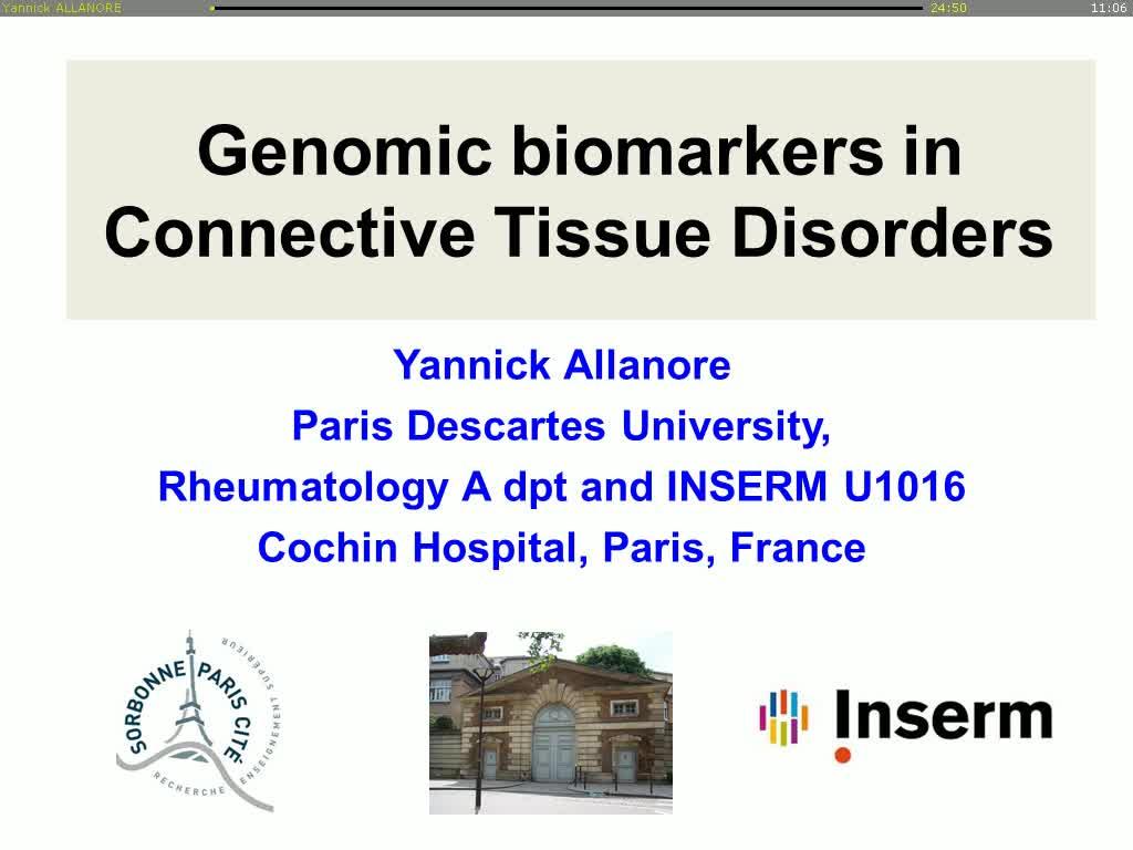 Biomarqueurs fondés sur la génomique dans les connectivités